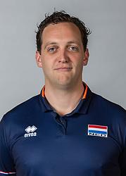 10-05-2018 NED: Team shoot Dutch volleyball team women, Arnhem<br /> Willem de Wit, Videoscout