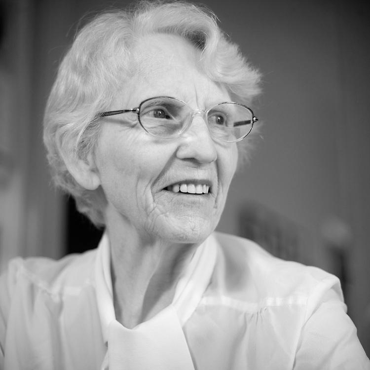 Kitchen Portrait Frances