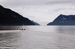 USA ALASKA 25JUN12 - Scenic landscape on the Alaska coastline near Seward...Photo by Jiri Rezac / Greenpeace