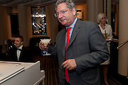 DOMINIC LAWSON, Graydon Carter hosts a dinner to celebrate the reopening og the American Bar at the Savoy.  Savoy Hotel, Strand. London. 28 October 2010. -DO NOT ARCHIVE-© Copyright Photograph by Dafydd Jones. 248 Clapham Rd. London SW9 0PZ. Tel 0207 820 0771. www.dafjones.com.