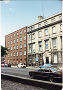 Old amateur photos of Dublin streets churches, cars, lanes, roads, shops schools, hospitals, ford cortina, Renault 4 VW Golf Custom House, Gate Theather, Protestant Church, Temple St Hospital, St Georges Church, Abbey St, GPO July 1986 July 1986