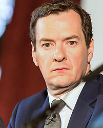 George Osbourne MP speaking at the launch of the Northern Powerhouse Partnership as he takes up his role as Chair of the new organisation<br /> <br /> (c) John Baguley   Edinburgh Elite media