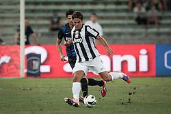 Bari (BA) 21.07.2012 - Trofeo Tim 2012. Inter - Juventus. Nella Foto: Matri (J) e Ranocchia (I)