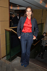 YASMIN MILLS at a party hosted by Donna Ida to celebrate 'A Decade in Denim' held at The hari Hotel, 20 Chesham Place, London on 11th October 2016.