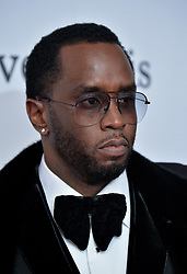 Sean Combs attends the Clive Davis and Recording Academy Pre-GRAMMY Gala and GRAMMY Salute to Industry Icons Honoring Jay-Z on January 27, 2018 in New York City.. Photo by Lionel Hahn/ABACAPRESS.COM