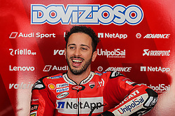 February 7, 2019 - Sepang, SGR, U.S. - SEPANG, SGR - FEBRUARY 07: Andrea Dovizioso of Mission Winnow Ducati Racing Team before the start of the  second day of the MotoGP official testing session held at Sepang International Circuit in Sepang, Malaysia. (Photo by Hazrin Yeob Men Shah/Icon Sportswire) (Credit Image: © Hazrin Yeob Men Shah/Icon SMI via ZUMA Press)