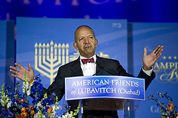 June 6, 2017 - Washington, District of Columbia, United States of America - Mayor Anthony A. Williams (Democrat of the District of Columbia) makes remarks after receiving the 2017 Lamplighter Award from Rabbi Levi Shemtov, Executive Vice President of American Friends of Lubavitch (Chabad) at the Mellon Auditorium in Washington, DC on Tuesday, June 6, 2017..Credit: Ron Sachs (Credit Image: © Ron Sachs/CNP via ZUMA Wire)