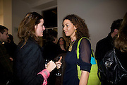 REBECCA WILSON ( LEFT) Unveiled; New art from the Middle East. The Saatchi Gallery in partnership with Phillips de Pury. Saatchi Gallery. King's Rd. London. 29 January 2009 *** Local Caption *** -DO NOT ARCHIVE-© Copyright Photograph by Dafydd Jones. 248 Clapham Rd. London SW9 0PZ. Tel 0207 820 0771. www.dafjones.com.<br /> REBECCA WILSON ( LEFT) Unveiled; New art from the Middle East. The Saatchi Gallery in partnership with Phillips de Pury. Saatchi Gallery. King's Rd. London. 29 January 2009