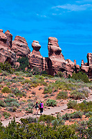 Devils Garden Trail, Arches National Park, near Moab, Utah USA