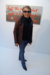 ROBERTO CAVALLI at an exhibition of paintings by artist Rene Richard at the Scream Gallery, Bruton Street, London on 3rd April 2008.<br /><br />NON EXCLUSIVE - WORLD RIGHTS