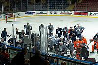 KELOWNA, BC - SEPTEMBER 23:  The Edmonton Oilers practice at Prospera Place on September 23, 2019 in Kelowna, Canada. (Photo by Marissa Baecker/Shoot the Breeze)