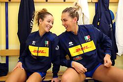 ARRIVO RAGAZZE NAZIONALE<br /> ITALIA - USA<br /> PALLAVOLO VNL VOLLEY FEMMINILE 2019<br /> CONEGLIANO (TV) 29-05-2019<br /> FOTO FILIPPO RUBIN