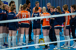 Coach Avital Selinger of Netherlands in action during the Women's friendly match between Netherlands and Belgium at Sporthal De Basis on may 19, 2021 in Sliedrecht, Netherlands (Photo by RHF Agency/Ronald Hoogendoorn)
