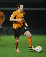 Football - 2013 / 2014 League One - Stevenage vs. Wolverhampton Wanderers<br /> <br /> Wolves Sam Ricketts at the Lamex Stadium.<br /> <br /> COLORSPORT/ANDREW COWIE