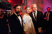 EVYGENY LEBEDEV;  ELENA PERIMNOVA; ALEXANDER LEBEDEV; , Natalia Vodianova and Lucy Yeomans co-host The Love Ball London. The Roundhouse. Chalk Farm. 23 February 2010.  To raise funds for The Naked Heart Foundation, a children's charity set up by Vodianova in 2005.<br /> EVYGENY LEBEDEV;  ELENA PERIMNOVA; ALEXANDER LEBEDEV; , Natalia Vodianova and Lucy Yeomans co-host The Love Ball London. The Roundhouse. Chalk Farm. 23 February 2010.  To raise funds for The Naked Heart Foundation, a childrenÕs charity set up by Vodianova in 2005.