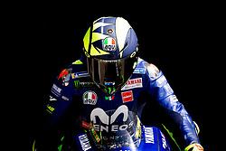 May 18, 2018 - Le Mans, Sarthe, France - VALENTINO ROSSI - ITALIAN - MOVISTAR YAMAHA MotoGP - YAMAHA (Credit Image: © Panoramic via ZUMA Press)