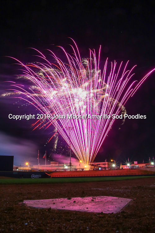 The Amarillo Sod Poodles played against the Corpus Christi Hooks on Friday, April 19, 2019, at HODGETOWN in Amarillo, Texas. [Photo by John Moore/Amarillo Sod Poodles]