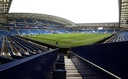 General view of the AMEX Stadium before the game