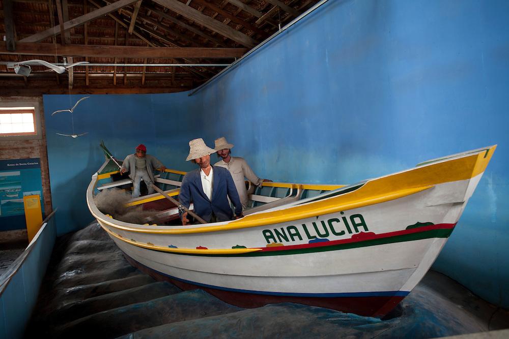 Sao Francisco do Sul_SC, Brasil...Museu Nacional do Mar em Sao Francisco do Sul, Santa Catarina...National Museum of the Sea in Sao Francisco do Sul, Santa Catarina...Foto: LUIZ FELIPE FERNANDES / NITRO
