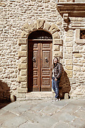 GANGI, SICILY, Margherita Passarello, living in Gangi and owner of one B&B