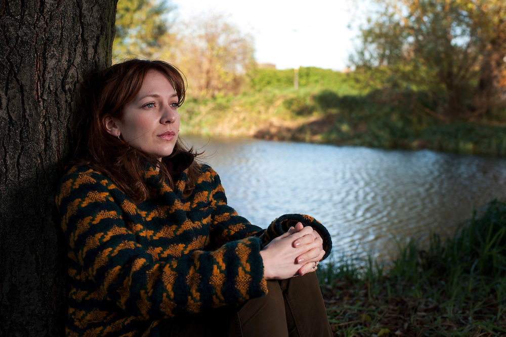 Comedian IT Girl  actor Katherine Parkinson poses for portraits on near her home in Blackheath, SE London on November 25th 2011..