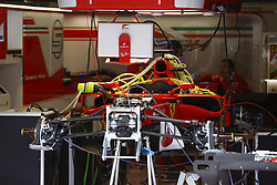 August 24, 2017 - Spa-Francorchamps, Belgium - Motorsports: FIA Formula One World Championship 2017, Grand Prix of Belgium, .technical detail, Scuderia Ferrari  (Credit Image: © Hoch Zwei via ZUMA Wire)