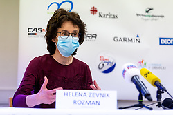 Helena Zevnik Rozman at press conference of charity event Dobrodelnost okoli Slovenije, on April 20, 2021 in Galerija Druzina, Ljubljana, Slovenia. Photo by Matic Klansek Velej / Sportida