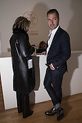 ELAN GENTRY; MARA BUKHTOYAROVA, Pace London presents The Calder Prize 2005-2015, Burlington Gardens, London.  Thursday 11 February 2016,