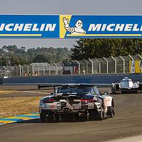 #88, Porsche 911 RSR, Dempsey-Proton Racing, drivers: Dominique Bastien, Adrien De Leener, Thomas Prening, LM GTE Am, FP1, at the Le Mans 24H, 2020