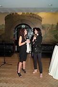 MARIA SUKKAR; DEDE JOHNSTON, Opening of Eadweard Muybridge and Rachel Whiteread exhibitions. Tate Britain. Millbank. 6 September 2010. -DO NOT ARCHIVE-© Copyright Photograph by Dafydd Jones. 248 Clapham Rd. London SW9 0PZ. Tel 0207 820 0771. www.dafjones.com.