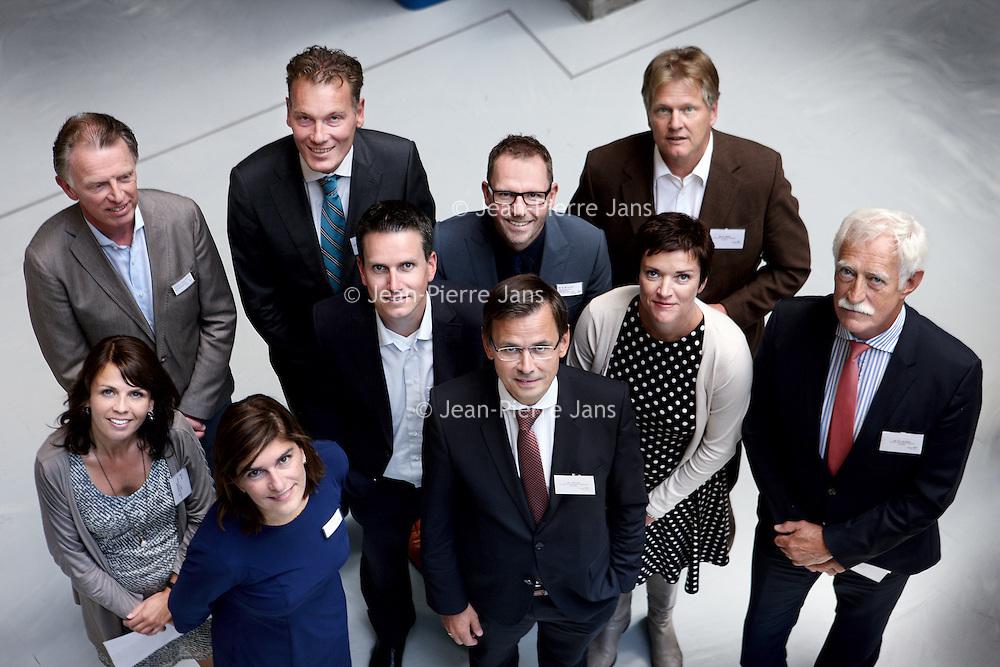 Nederland, Amsterdam , 1 juli 2014.<br /> Werkbezoek polikliniek VUmc Andre Rouvoet i.v.m. revalidatiegeneeskunde.<br /> Foto:Jean-Pierre Jans