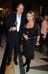 TV presenter JUDITH CHALMERS and her husband MR NEIL DURDEN-SMITH at the 2005 Lancome Colour Design Awards in association with CLIC Sargent Cancer Care for Children held at the Freemasons' Hall, Great Queen Street, London on 23rd November 2005.<br />NON EXCLUSIVE - WORLD RIGHTS
