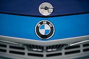 March 11-13, 2016 Amelia Island. BMW touring car logo detail