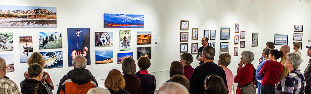 """Kenton Rowe talking about his Photographs in the 2013 group show """"Montana's Living Landscape: A Photographic Essay"""" at the Holter Museum of Art"""