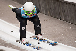 February 7, 2019 - Ljubno, Savinjska, Slovenia - Guylim Park of Korea competes on qualification day of the FIS Ski Jumping World Cup Ladies Ljubno on February 7, 2019 in Ljubno, Slovenia. (Credit Image: © Rok Rakun/Pacific Press via ZUMA Wire)