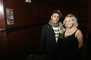 l to r: Dan Petruzzi and Ginny Suss at The OkayPlayer Hoiliday Jammy presented by OkayPlayer and Frank Magazine held at BB Kings on December 18, 2008 in New York City..The Legendary Roots Crew gives back to fans with All-Star line-up of Special Guests to celebrate upcoming Holiday Season.