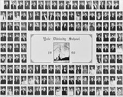 1996 Yale Divinity School Senior Portrait Class Group Photograph