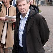 NLD/Wassenaar/20080403 - Herdenkingsdienst Erik Hazelhoff Roelfzema, Frits Barend