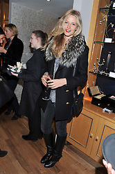 OLIVIA HUNT at the Linley Christmas party at Linley, 60 Pimlico Road, London on 20th November 2012.
