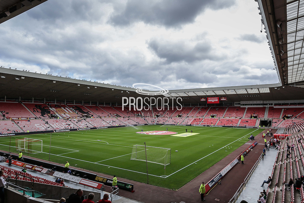 Stadium shot during the Premier League match between Sunderland and Middlesbrough at the Stadium Of Light, Sunderland, England on 21 August 2016. Photo by Simon Davies.