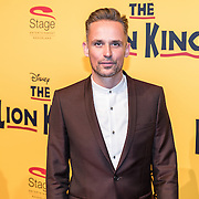 NLD/Scheveningen/20161030 - Premiere musical The Lion King, Patrick Martens