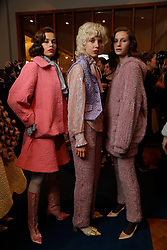 Ryan LO fashion show backstage at London Fashion Week in February 2019.. 15 Feb 2019 Pictured: Ryan LO fashion show backstage. Photo credit: GOL/Capital Pictures / MEGA TheMegaAgency.com +1 888 505 6342
