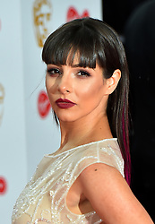 Roxanne Pallett arriving for the Virgin TV British Academy Television Awards 2017 held at Festival Hall at Southbank Centre, London. PRESS ASSOCIATION Photo. Picture date: Sunday May 14, 2017. See PA story SHOWBIZ Bafta. Photo credit should read: Matt Crossick/PA Wire
