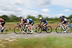 Barbara Guarischi (ITA) at Stage 2 of 2019 OVO Women's Tour, a 62.5 km road race starting and finishing in the Kent Cyclopark in Gravesend, United Kingdom on June 11, 2019. Photo by Sean Robinson/velofocus.com