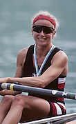 Lucerne, SWITZERLAND  GBR LW1X.  Sue KEY. 1992 FISA World Cup Regatta, Lucerne. Lake Rotsee.  [Mandatory Credit: Peter Spurrier: Intersport Images] 1992 Lucerne International Regatta and World Cup, Switzerland