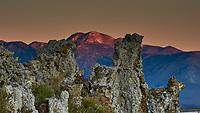 Mono Lake, South Tufa Area. Image taken with a Nikon D3 camera and 200 mm f/2 lens (ISO 1100, 200mm, f/16, 1/60 sec).