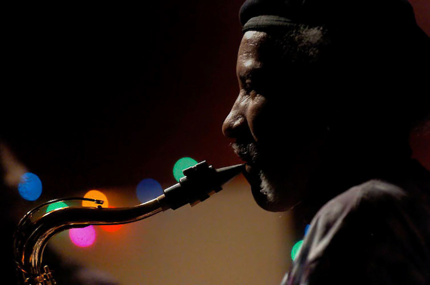 Charles Neville (Neville Brothers)<br /> Photo by Mike Dean<br /> www.mikedeanphotos.com