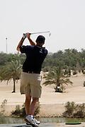 Abu Dhabi, United Arab Emirates (UAE). .March 20th 2009..Al Ghazal Golf Club..36th Abu Dhabi Men's Open Championship..Peter Shaw