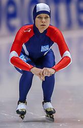 04-01-2003 NED: Europees Kampioenschappen Allround, Heerenveen<br /> 1500 m Hanna Bjelkevik NOO