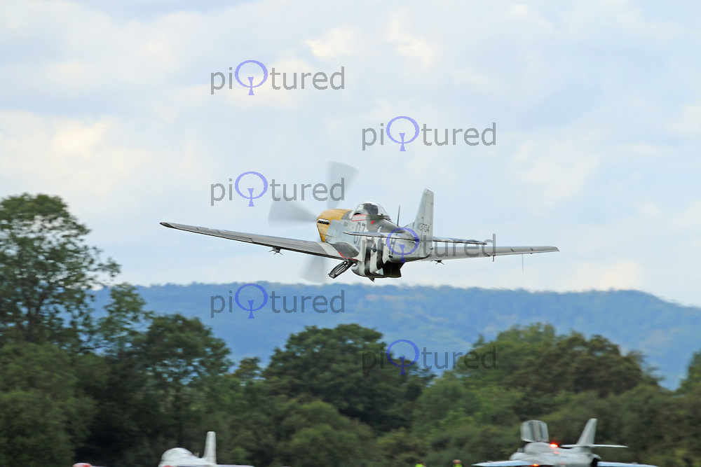 North American P-51 Mustang, Dunsfold Wheels & Wings, Dunsfold Park Airfield, Surrey UK, 23 August 2014, Photo by Richard Goldschmidt